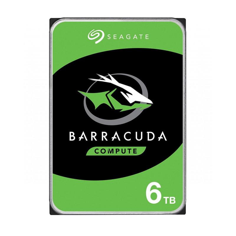 Seagate Barracuda 6TB 3.5 Zoll 6000 GB Serial ATA III