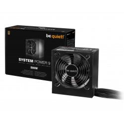be quiet! System Power 9 Netzteil 500 W 20+4 pin ATX ATX Schwarz