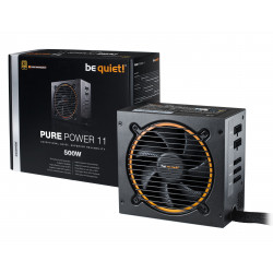 be quiet! Pure Power 11 500W CM Netzteil 20+4 pin ATX ATX Schwarz